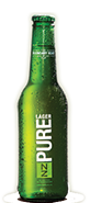 NZ PURE LAGER 330ML