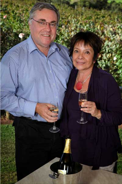 Simon and Maaike Berns owners of Sittella Winery