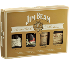 JIM BEAM SMALL BATCH COLLECTION 4PK