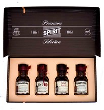 PREMIUM SPIRIT SELECTION DARK RUM 4 X 100ML