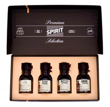 PREMIUM SPIRIT SELECTION BOURBON 4X100ML