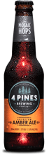 4 Pines American Amber Ale 330ml