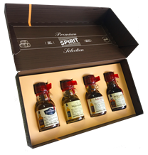 PREMIUM SPIRIT SELECTION INERNATIONAL WHISKY 4X100ML