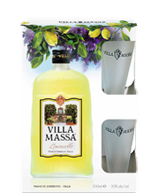 VILLA MASSA LIMONCELLO GIFT PACK 500ML