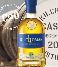 KILCHOMAN WHISKY TASTING MASTERCLASS 100ML SPLIT TICKET