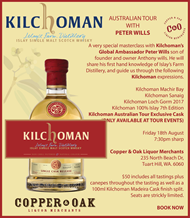 KILCHOMAN AUSTRALIAN TOUR WITH PETER WILLIS