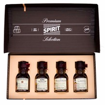 PREMIUM SPIRIT SELECTION SFSC 2017 DOUBLE GOLD 4X100ML