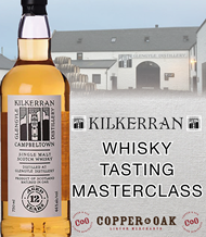 TASTING WITH DAVID ALLEN FROM KILKERRAN GLENGYLE DISTILLERY