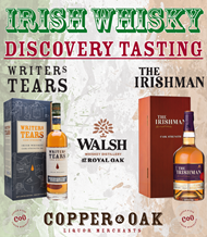 IRISH WHISKY DISCOVERY TASTING