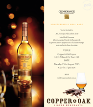 GLENMORANGIE WHISKY & CHOCOLATE TASTING
