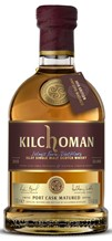 KILCHOMAN SINGLE MALT PORT CASK WHISKY 2018 700ML