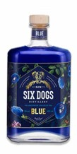 Six Dogs Blue Gin 700ml