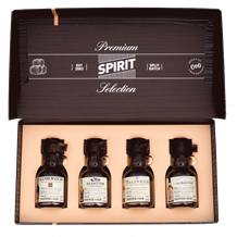 Premium Spirit Selection Winners Whisky gift 4 x 100ml