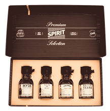 Premium Spirit Selection World Whisky gift 4 x 100ml