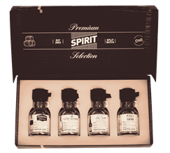 Premium Spirit Selection International Gin gift 4 x 100ml