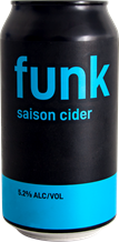 Funk Saison Dry Cider Can 375ml