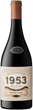 Bellevue Stellenbosch Wine Estate 1953 Pinotage 750ml
