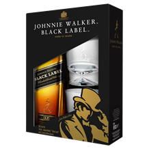 JOHNNIE WALKER BLACK 12 YEAR OLD GIFT 700ML