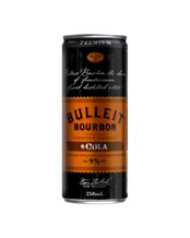 BULLEIT 9% COLA 250ML