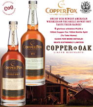 Copper Fox Whisky Tasting