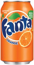 FANTA ORANGE CAN 375ML 1