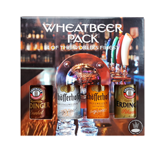 WHEAT BEER PACK 4BT 500ML