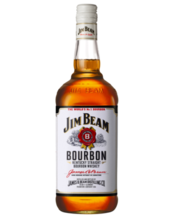 Jim Beam Bourbon White Label 1L